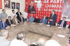 AK Partinin Trabzon Adayları Çaykara'dan başladı