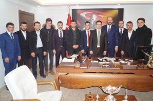 AK Parti Gençlik Kollarından Kaymakam Fırat'a ziya