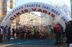Trabzon Şehit Eren Bülbül için koşuyor