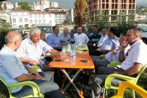 Günnar'dan Of teşkilatına özel ziyaret