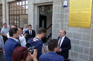 Başkan Gümrükçüoğlu, basın mensuplarıyla buluştu