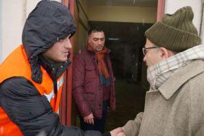 Başkan Gümrükçüoğlu, kar mücadelesi