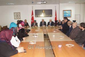 Başkan Sarıalioğlu Okul Aile Birliği Başkanlarıyla