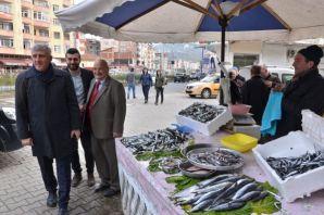 """Başkan Sarıalioğlu, """"Her zaman vatandaşlarımızla i"""