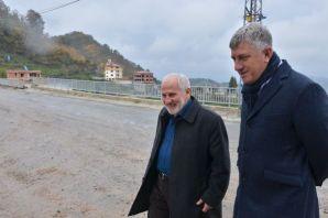 Başkan Sarıalioğlu Serince'de incelemelerde bulund
