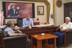 Başkan Sarıalioğlu'na geçmiş olsun ziyareti