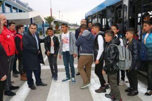 Biz Anadoluyuz projesiyle Şanlıurfalı  40 öğrenci