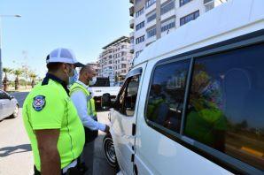 Büyükşehirden Of'ta korsan taksi ve taksimetre denetimi