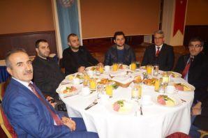 Trabzon basını Çalışan Gazeteciler Gününde bir ara