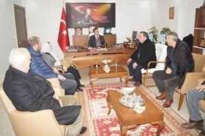 CHP yönetiminden Kaymakam Fırat'a ziyaret