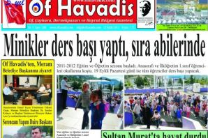 Of Havadis 208.Sayı yayında
