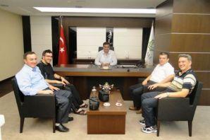 Meram Belediye Başkanına ziyaret