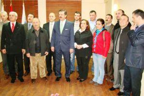 TOBB Başkanı Hisarcıklıoğlu Of TSO'yu ziyaret etti