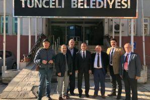 Dernek Başkanlarından Vali Sonel'e ziyaret