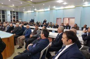 Dernekpazarı'nda  Kentsel Dönüşüm toplantısı