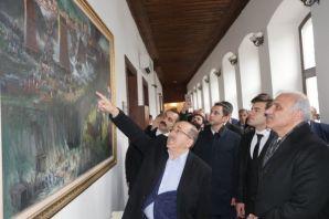 Başkan Gümrükçüoğlu, AK Parti Adayı Zorluoğlu'nu a