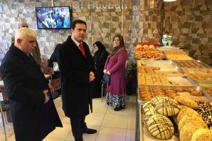 Hekimoğlu Simit Sarayı hizmete açıldı