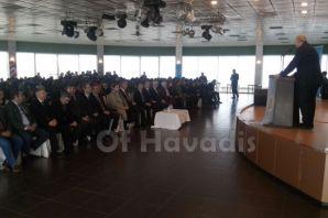 KTÜ Rektörü Baykal Oflu öğrencilerle buluştu