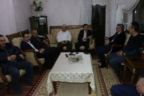 Kaymakam Fırat ve Kent Konseyi'nden Kabahasanoğlu'