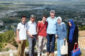 Kaymakam Arslan'dan başarılı öğrencilere Balkan Tu
