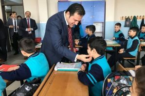 Kaymakam Fırat'tan Ali Yeşilyurt İHO'ya ziyaret