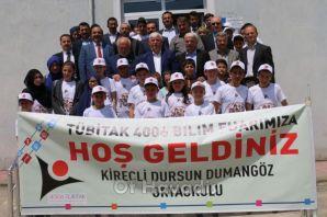 Kireçli'de 4006 TÜBİTAK Bilim Fuarı
