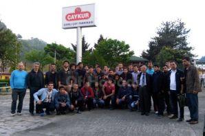 Konyalı öğrenciler Of'ta çayı inceledi