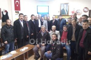 MHP'li Çakıroğlu'ndan Bayburt ve Çaykara Dernekler