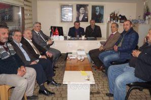 Of Memur-Sen'den Of CHP'ye ziyaret