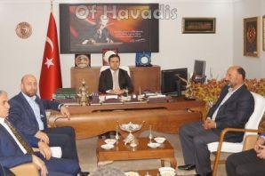 Ak Parti'den Kaymakam Fırat ve Başkan Sarıalioğlu'