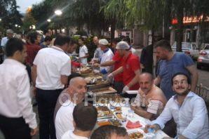 Of Belediyesi Of'u iftarda buluşturdu