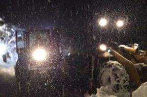 Karla mücadelede tüm imkânlar seferber ediliyor