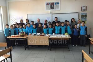 Yılın en temiz sınıfında kutlama