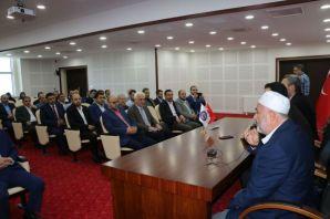 Kaymakam Fırat'tan din görevlilerine başarı belges