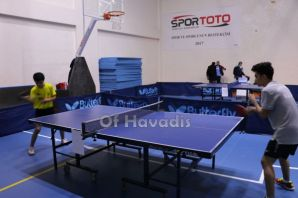 Of'ta Masa Tenisi heyecanı yaşandı
