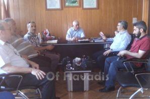 Of Medya Derneği'nden Kabahasanoğlu'na ziyaret