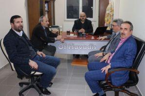 Of Havadis'ten Vaiz Bilgin'e ziyaret