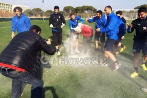 Ofspor'da Tolgay Hocaya doğum günü