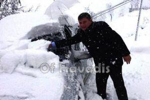Of'a mevsimin ilk karı düştü - Aralık 2013