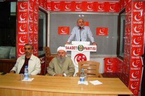 Saadet Partisi Of İlçe Toplantı