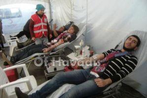 TDF'li gençler kan vermeye doyamıyor