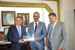 TDF'den Başkan Saral'a ziyaret