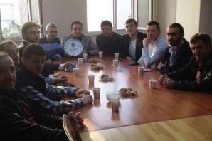TDF Gençlik'ten SİNDEF Gençlik'e ziyaret