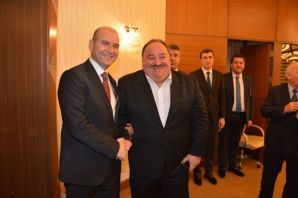 TES-İŞ Yöneticilerinden Bakan Soylu'ya ziyaret