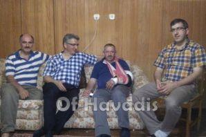 Yaşar Çakır'a geçmiş olsun ziyareti