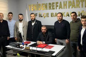 Yeniden Refah'ın Başkan Yardımcıları Of'ta