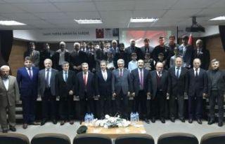 İstiklal Marşı'nın 99.kabul yılı Of'ta kutlandı
