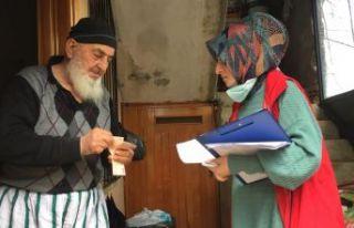 Of Vefa Sosyal Destek Grubu yaşlıların hizmetine...