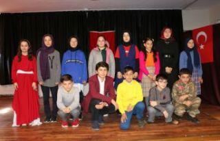 Of'ta İstiklal Marşı'nın Güzel Okuma Yarışması...