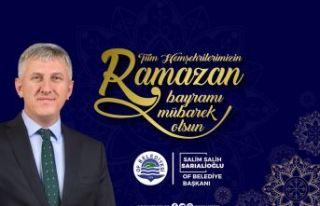 Başkan Sarıalioğlu'ndan Bayram mesajı